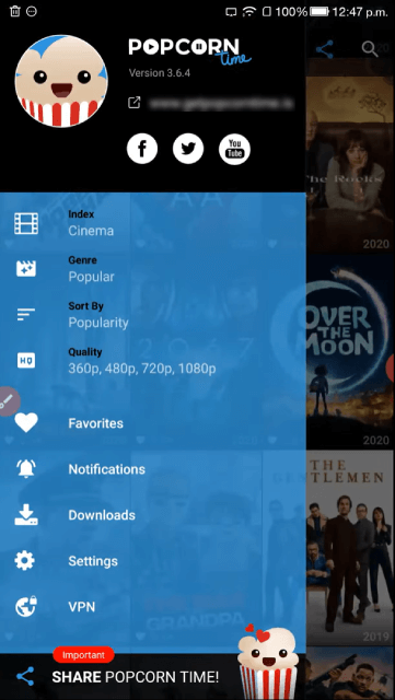 How To Use Popcorn Time